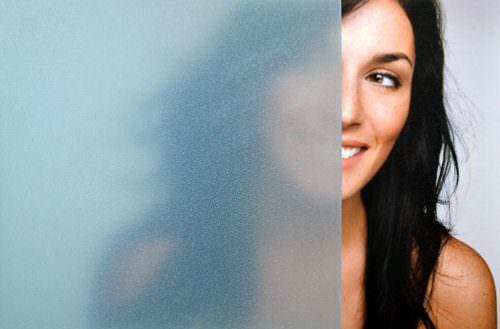 Frosted Blue Mist Crystal Window Tint Specialists Decorative Window Film Authorized Platinum 3M Dealer Orlando