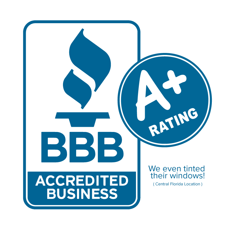 Proud Member of the BBB Window Tint Specialists Authorized Platinum 3M Dealer Orlando