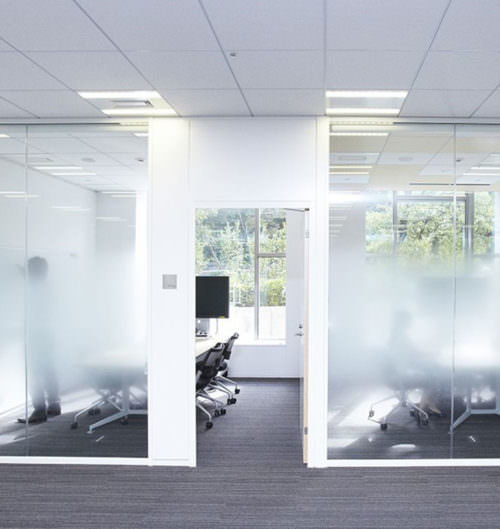 Cloud Dual Gradient Film Window Tint Specialists Decorative Window Film Authorized Platinum 3M Dealer Orlando