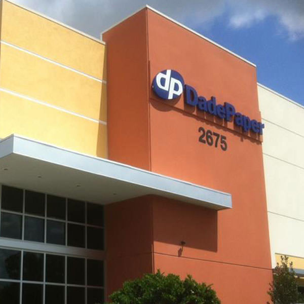 Dade Paper WTS Commercial Window Film Authorized Platinum 3M Dealer Orlando