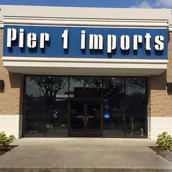 Pier 1 Imports WTS Commercial Window Film Authorized Platinum 3M Dealer Orlando