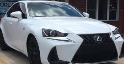 White Lexus 3M Premium Window Film Orlando